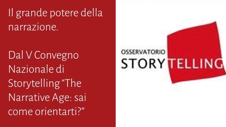 Il grande potere della narrazione